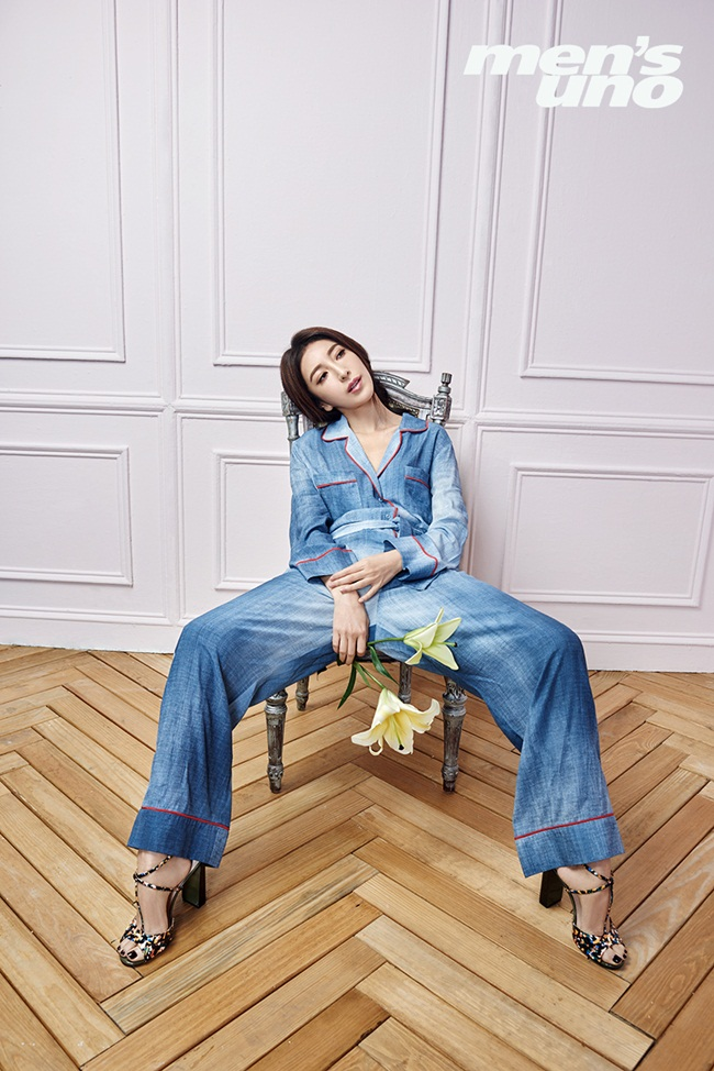 Fendi 2016 Resort Blue Denim Dress Jumpsuit Editorials
