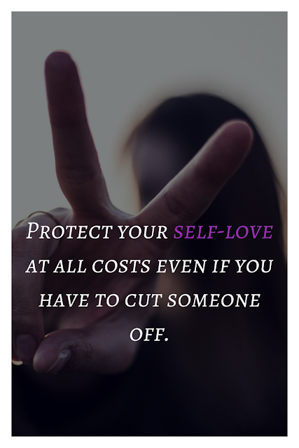 Your self-love comes first