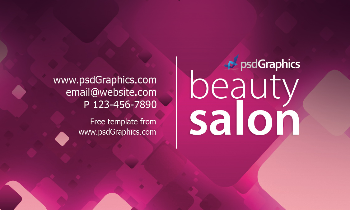 Salon Business Cards Business Card Tips - Hair salon business card template