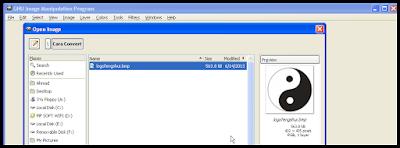 Cara Convert Gambar di GIMP 3