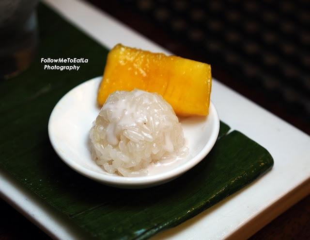 Khao Nieaw Mamuang ~ Chokanan mango sticky rice