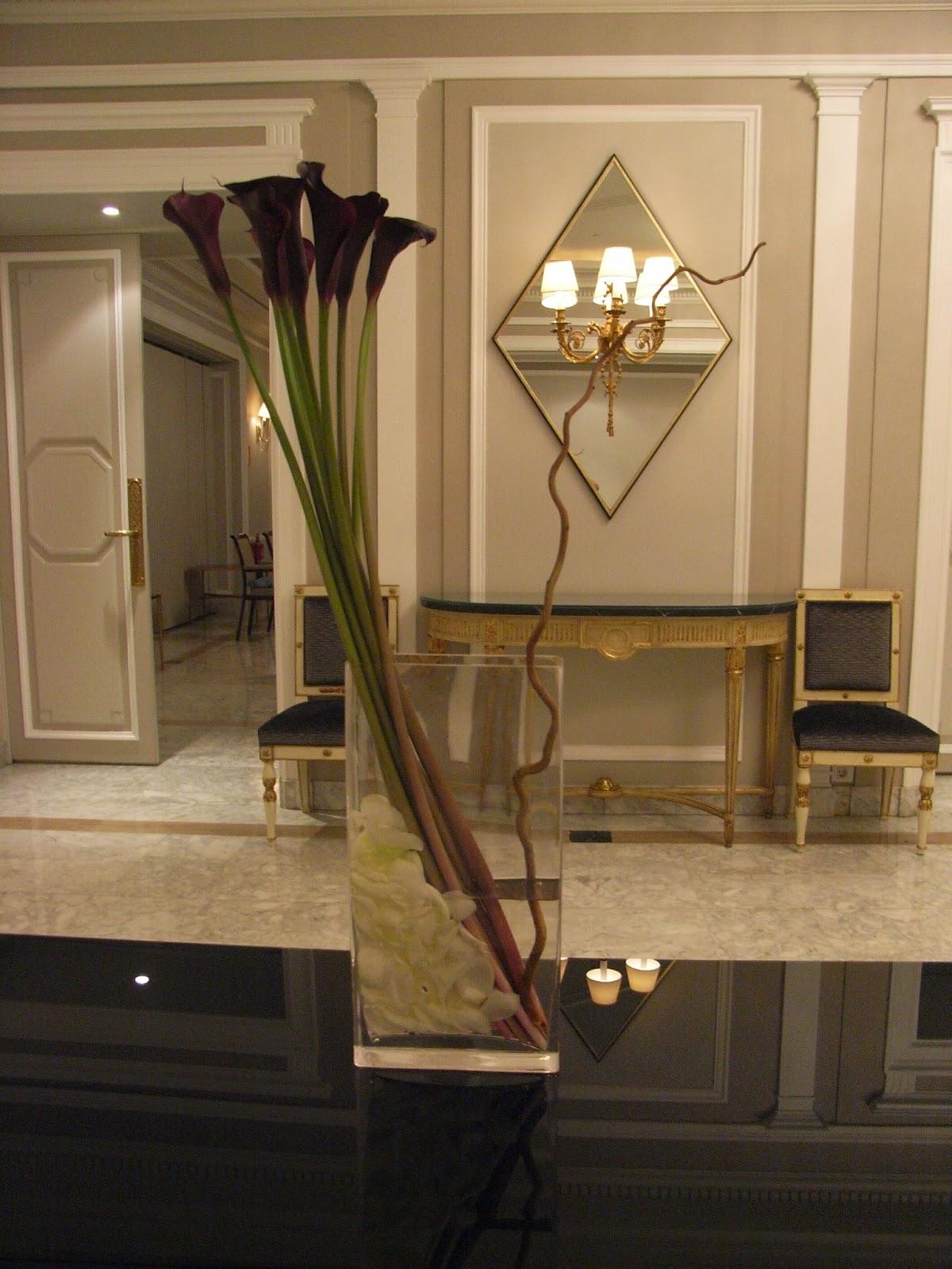 DECORACIONES FLORALES PARA HOTELES