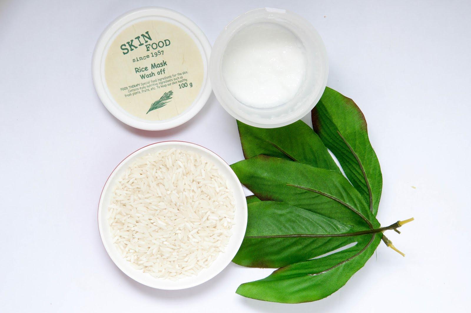 rice for skin whitening