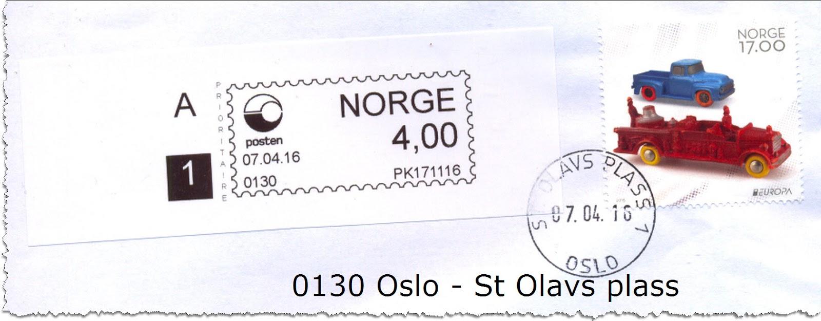 Frankering Norge