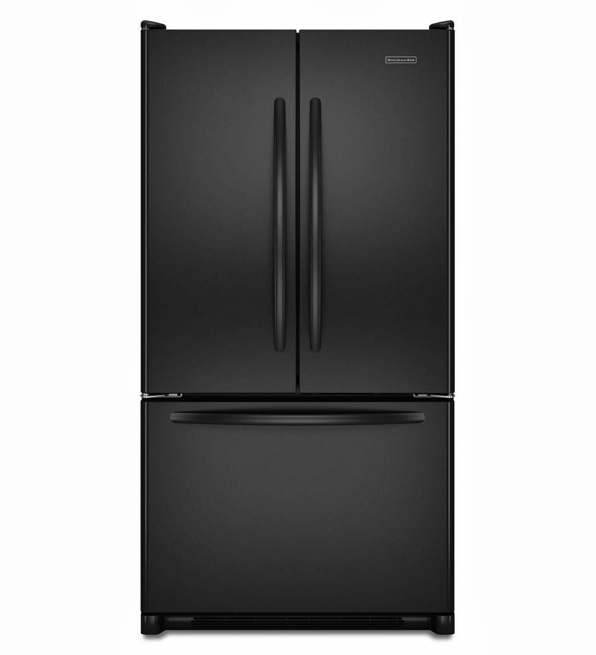 Kitchenaid Black Stainless Steel Counter Depth French Door: Counter Depth Refrigerators Reviews: February 2014