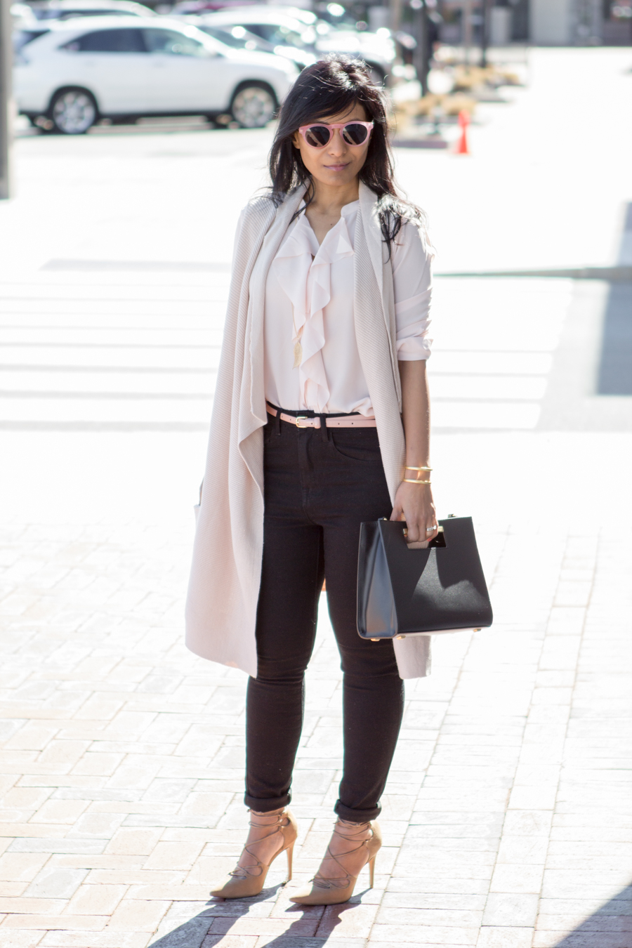 Work Style - Ruffles and Blush