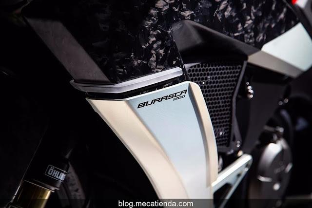 Burasca da a la Honda VFR el tratamiento Drudi