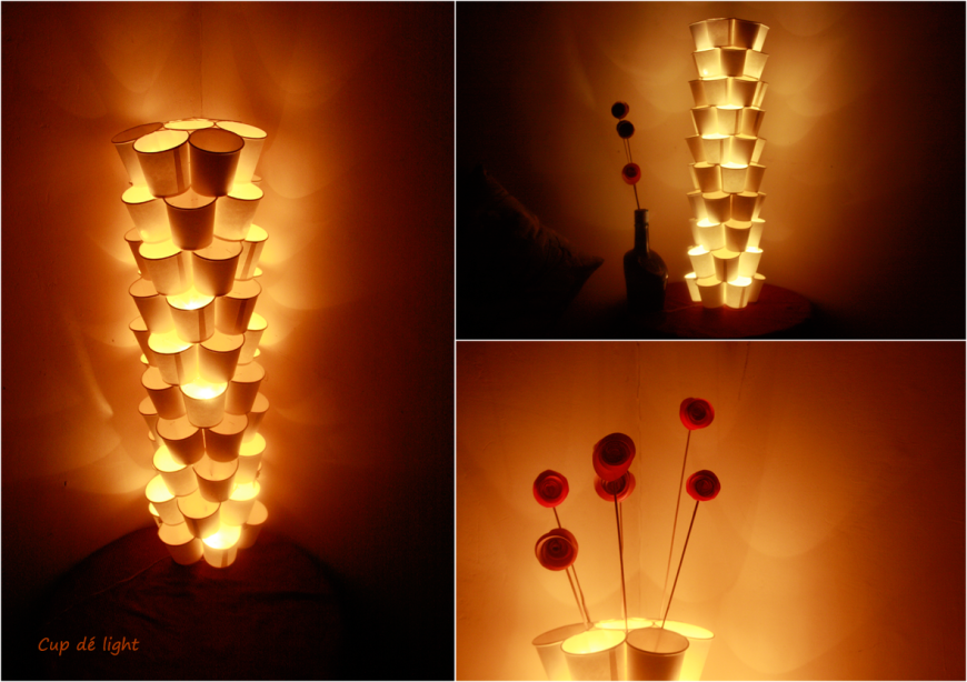 Popular DIY Crafts Blog: How to Recycle Paper Cups Tower ...