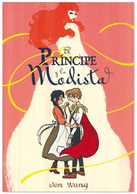 """""""El príncipe y la modista"""" de Jen Wang, comic editado por Sapristi"""