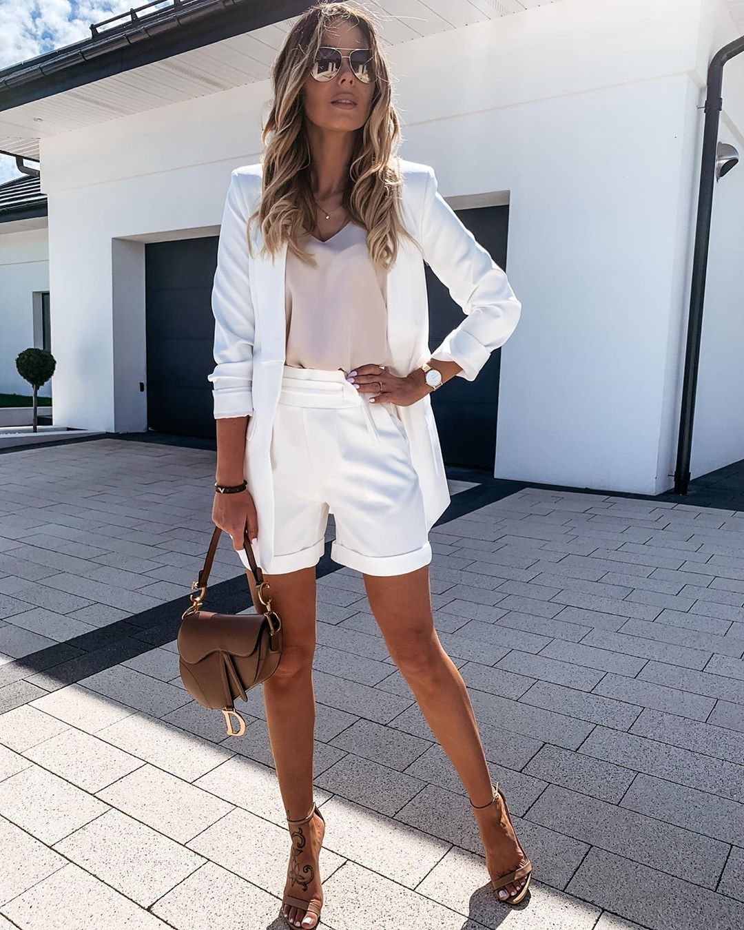 21 White Pieces to Wear to Work This Summer