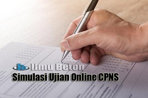 Simulasi Kisi-kisi Soal Ujian Online CPNS 2018