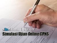 Simulasi Kisi-kisi Soal Ujian Online CPNS 2020