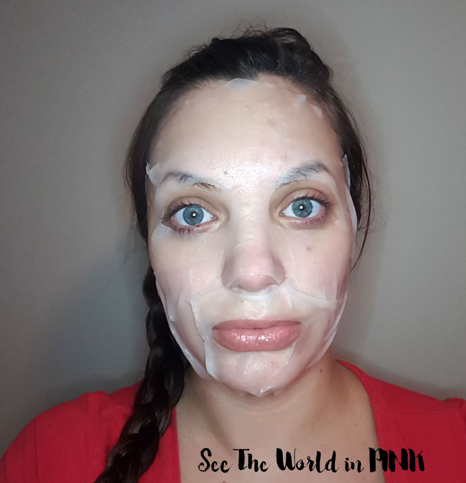 "Mask Wednesday - TONYMOLY I'm Real Mask Sheet ""Seaweed"""