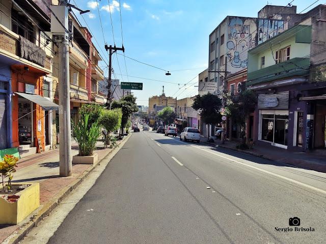 Vista de trecho da Rua da Mooca - Mooca - São Paulo