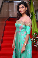 Anisha Ambrose sizzles in cute Green Anarkali Dress at Fashion TV F Club Saloon Launch ~  Exclusive 014.JPG
