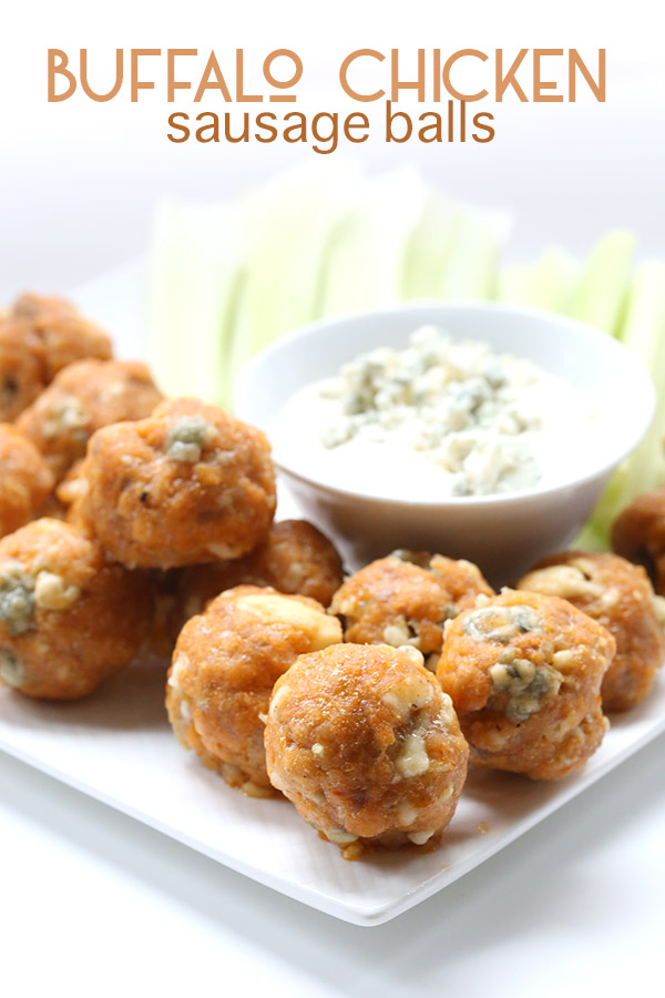Buffalo Chicken Sausage Balls from All Day I Dream About Food featured ...