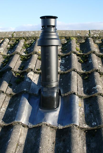 Plannet Plumbing Services Ltd Vertical Flued Installation