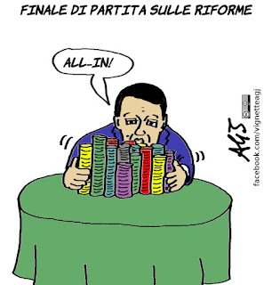riforme costituzionali, referendum, renzi, satira, vignetta