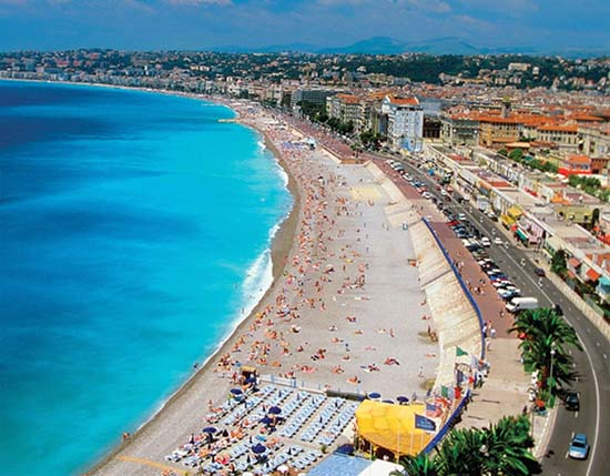In France There Is The Famous Beach Cote D Azur It Located Southern Region And Along Mediterranean Sea