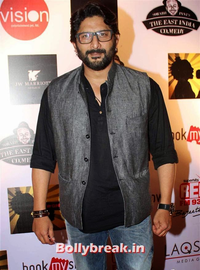 Arshad Warsi, Shruti Seth, Maria Goretti at 4th Annual Ghanta Awards