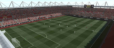 PES 2019 St Mary's Stadium by Orsest