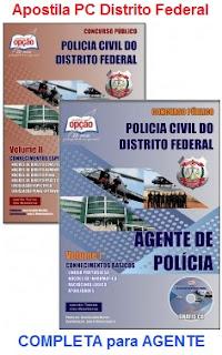 Apostila Polícia Civil Distrito Federal (PCDF) Agente da Polícia Civil