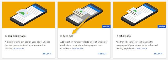 Tutorial kali ini saya akan membahas sedikit duduk kasus wacana menampilkan iklan InFeed di  Cara Memasang In-Feed Ads Google AdSense Di Blog