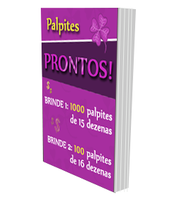 Brindes - Dicas e Palpites grátis para ganhar na LotoFácil