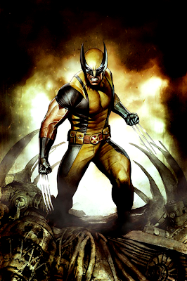 Costum Savage Wolverine