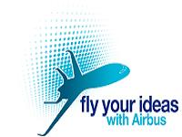Logo konkursu FLY od Airbusa