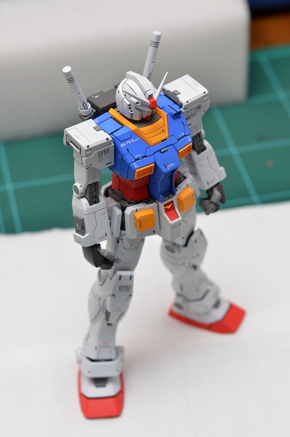 Custom Build Mg 1 100 Rx 78 02 Gundam The Origin Ver