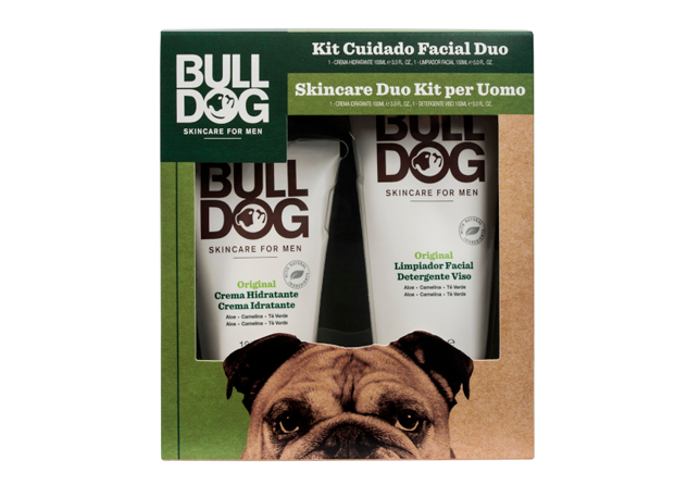 Kit de Cuidado Facial Duo de Bulldog
