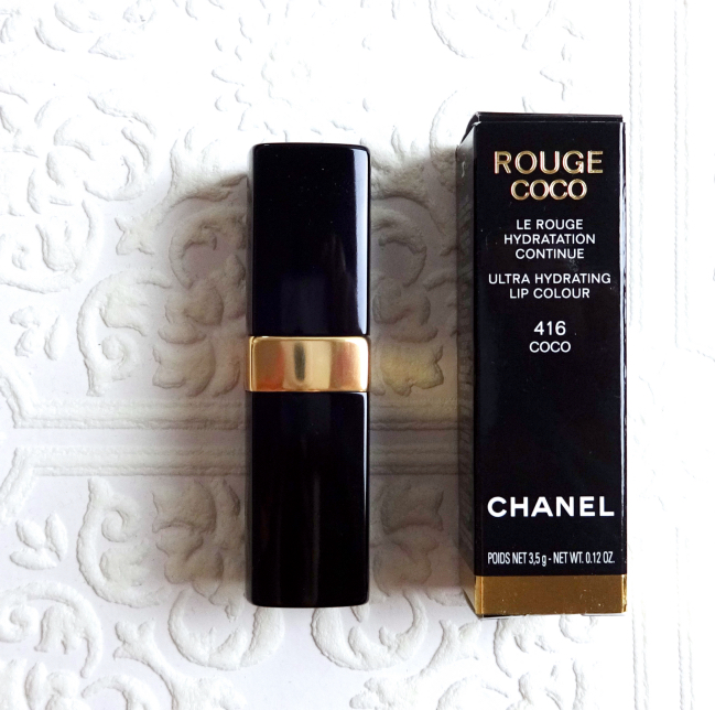 Chanel Rouge Coco Ultra Hydrating Lip Colour 416 Coco