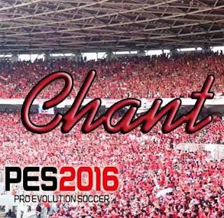 PES 2016 Chant Map