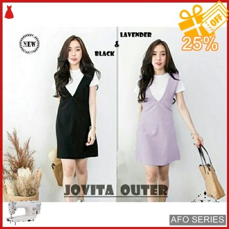 AFO176 Model Fashion Jovita Outer Luaran Aja Modis Murah BMGShop