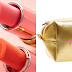 $30 (Reg. $42) + Free Ship Winky Lux Steal My Heart Lippie Kit! Get 3 Lippie & Gold Makeup Bag!