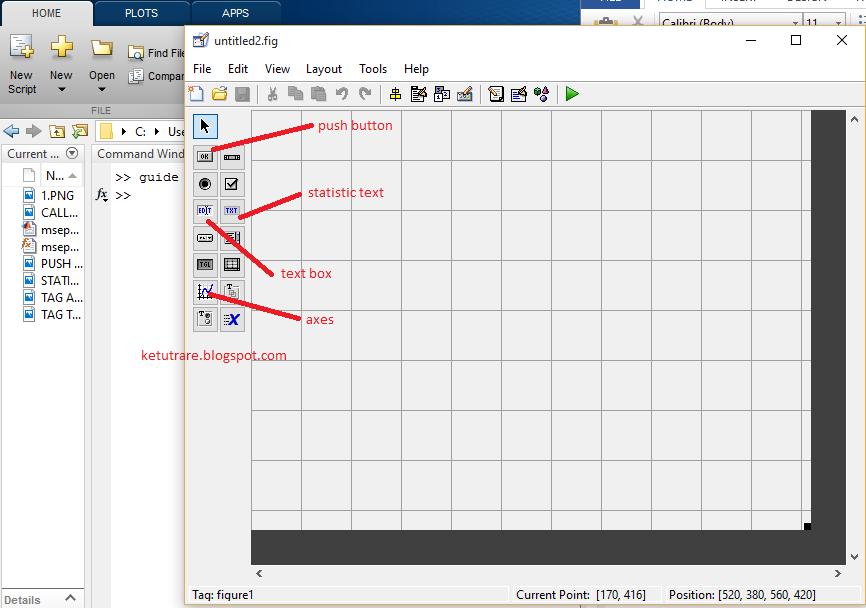 Contoh Penerapan MSE dan PSNR dengan GUI MATLAB | KETUTRARE