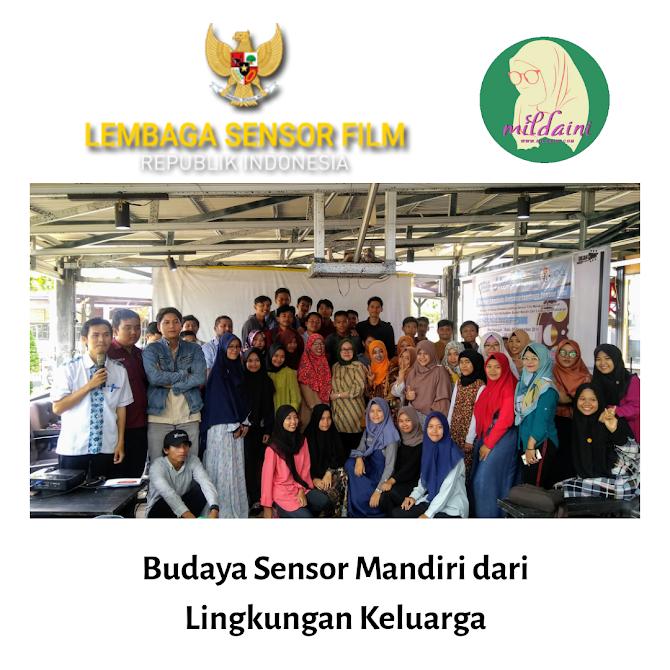 Gerakan Budaya Sensor Mandiri Bersama Lembaga Sensor Film dan Blogger Bengkulu
