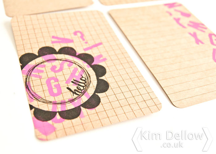 Click to a tutorial on the Blitsy Blog - how to use dies to make stencils