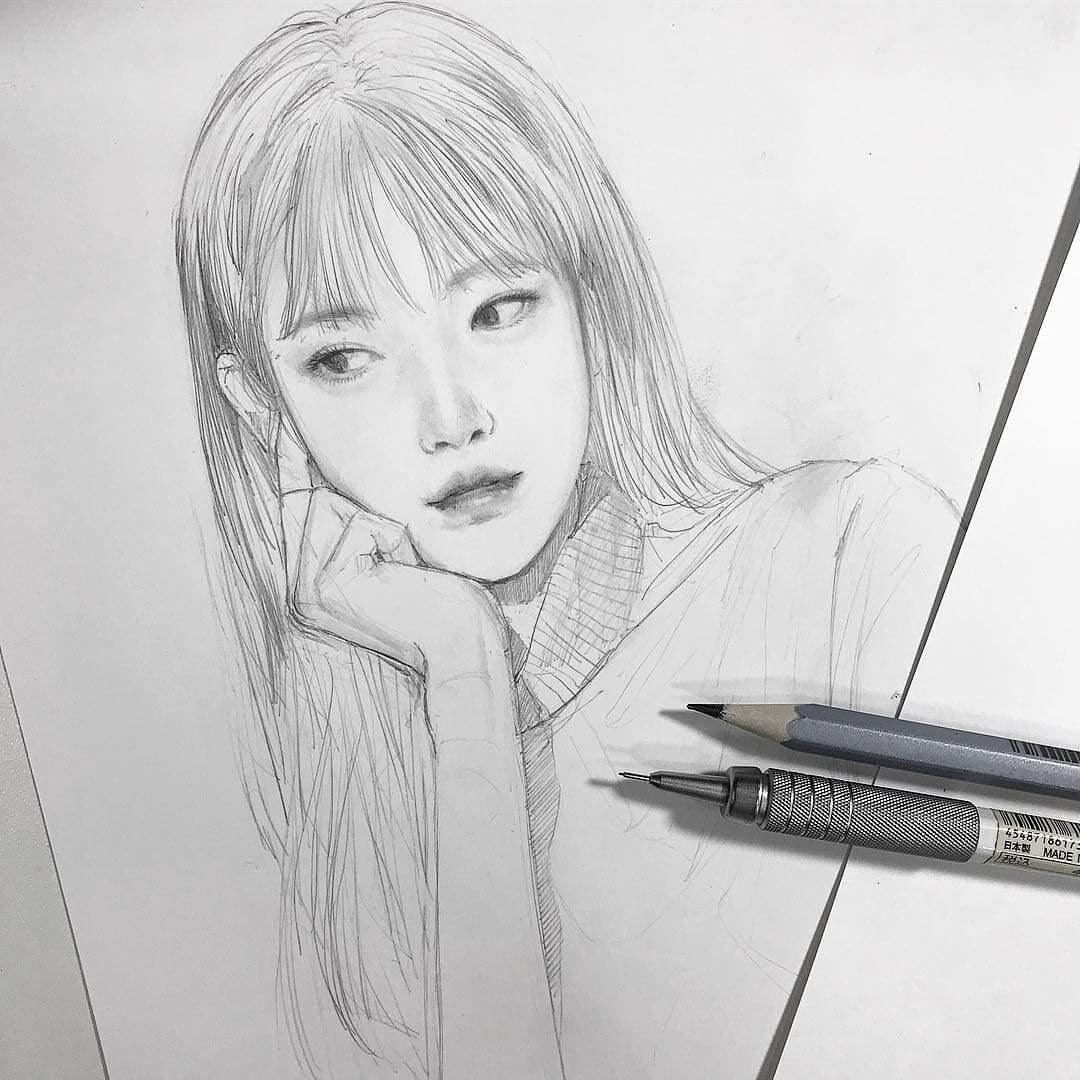 06-Chibana-Pen-and-Pencil-Portrait-Sketches-www-designstack-co