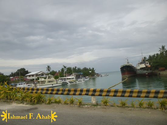 Channel to Silot Bay in Lilo-an, Cebu