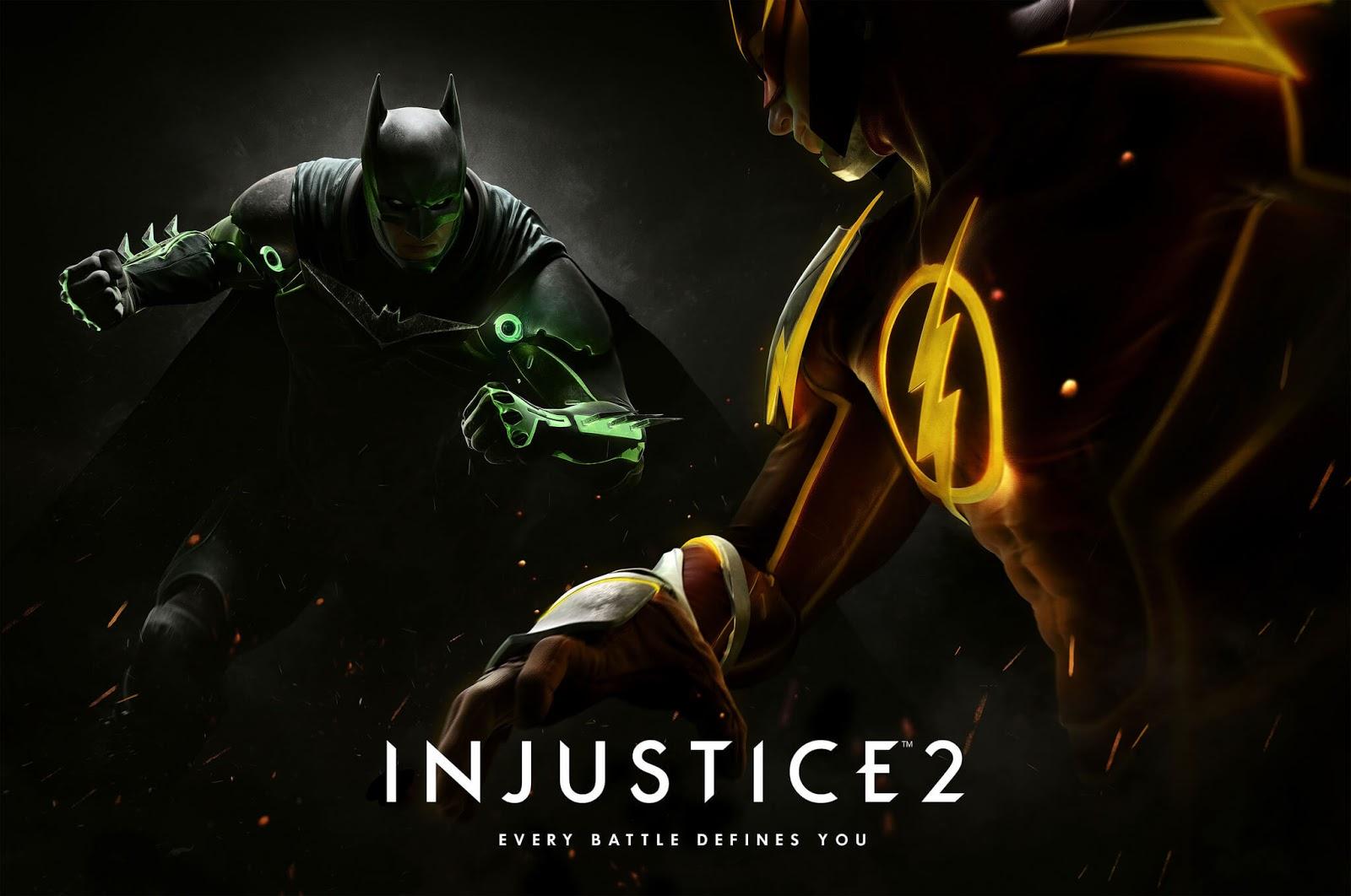 injustice 2 batman and flash