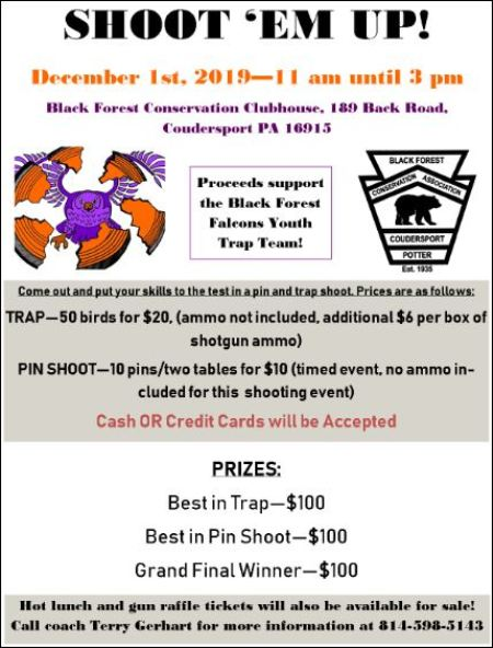 "12-1 ""Shoot Em' Up"" Trap Shoot"