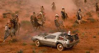 Delorean DMC - 12 en el Oeste