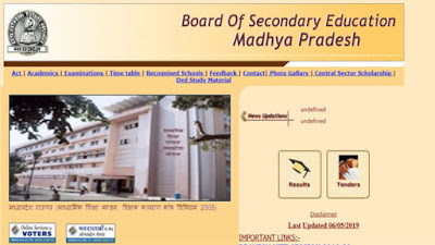 MPBSE-MP-Board-12th-Result-2019