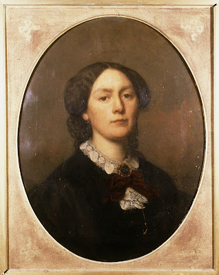 Portrait of Arnoldina Wilhelmina Stratenus (1871), Sofie Ribbing