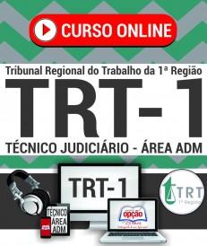 Curso TRT 1ª Região 2018