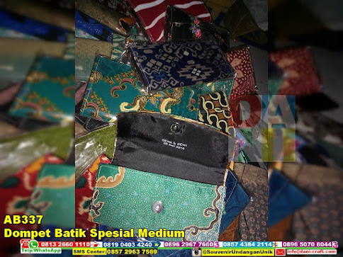 jual Dompet Batik Spesial Medium