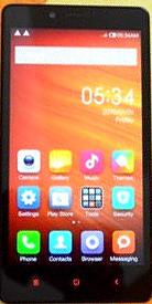 Xiaomi Redmi Note 3G Official Firmware