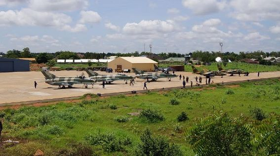 airforce fighter jets borno